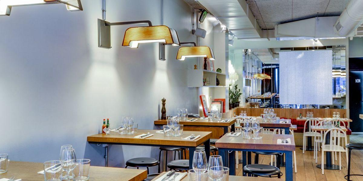 Le Pressing Salle de restaurant