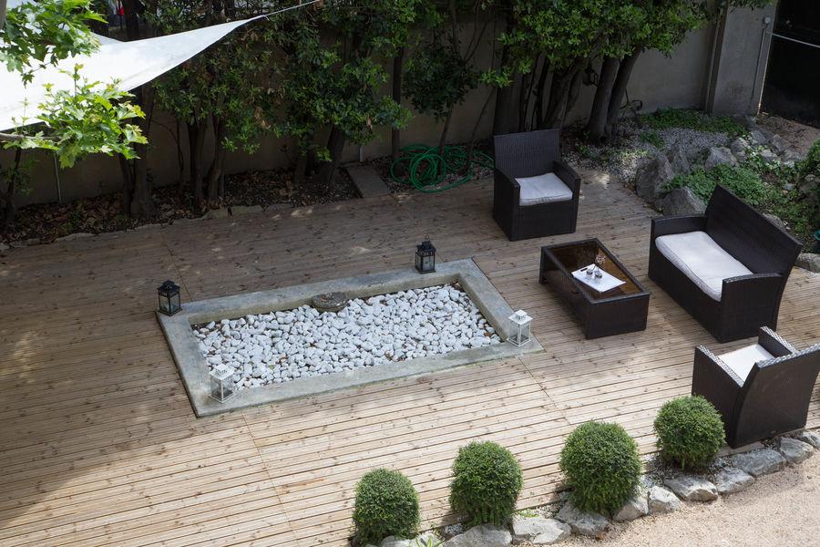 Maison Chants d'Oiseaux Terrasse pour repas ou cocktail en exterieur