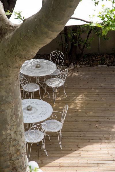 Maison Chants d'Oiseaux Terrasse pour repas en extérieur