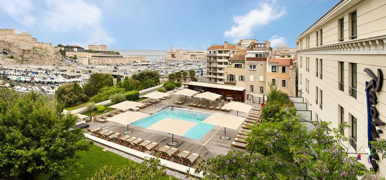 Radisson Blu Hôtel Marseille Vieux Port **** Piscine