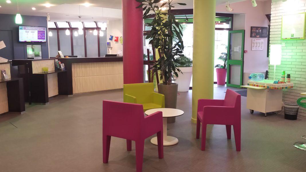 Ibis Styles Bordeaux Gare Saint Jean Lobby