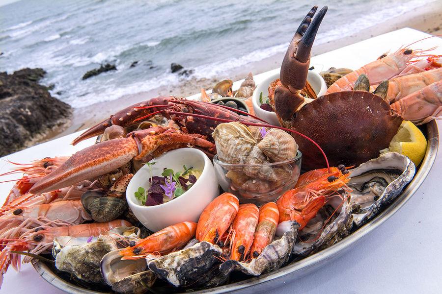 Château des Tourelles Thalasso & Spa **** Restaurant Plateau de Fruits de mer