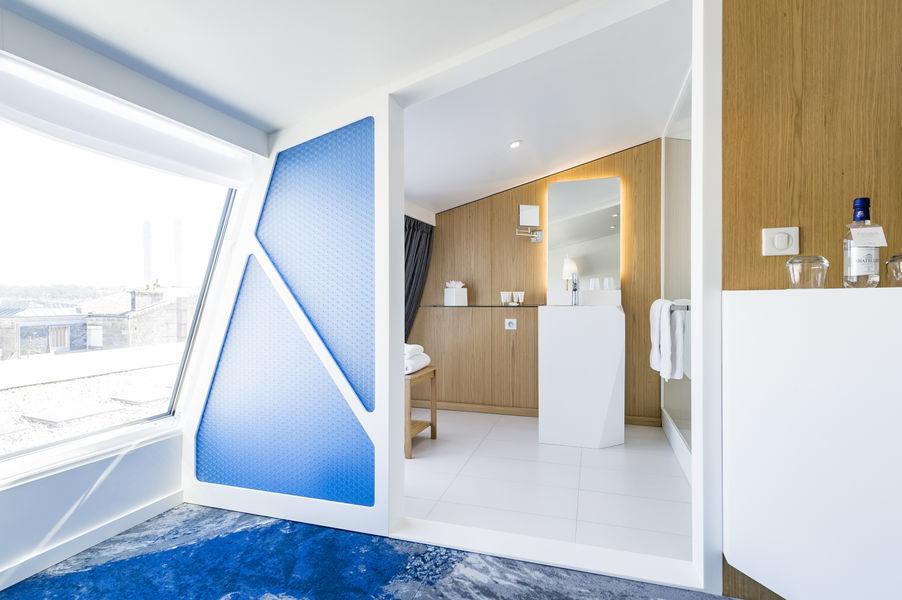 Seeko'o Hôtel Design Bordeaux **** Salle de bain Chambre Executive Ba-Ba