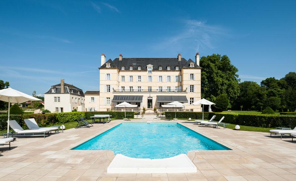 Château de Saulon **** Piscine
