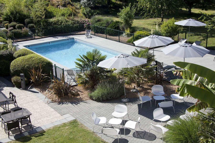 Novotel Clermont-Ferrand *** Notre piscine
