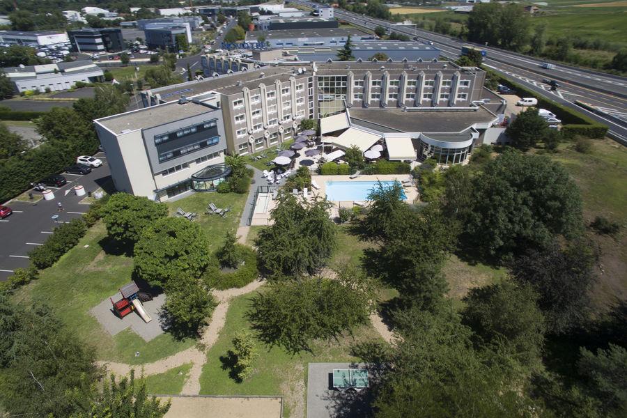 Novotel Clermont-Ferrand *** Vue aérienne