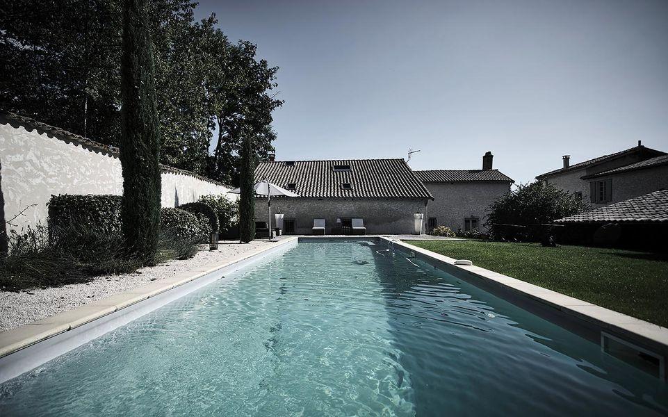 Hermitage de Moly La piscine
