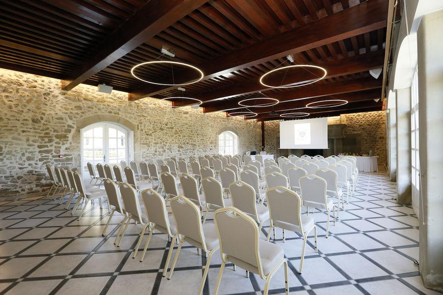 Domaine de la Chartrognière Salle de réception
