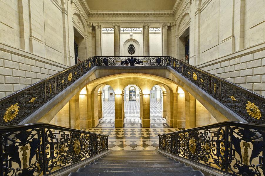 Bordeaux Palais de la Bourse Escalier d'honneur