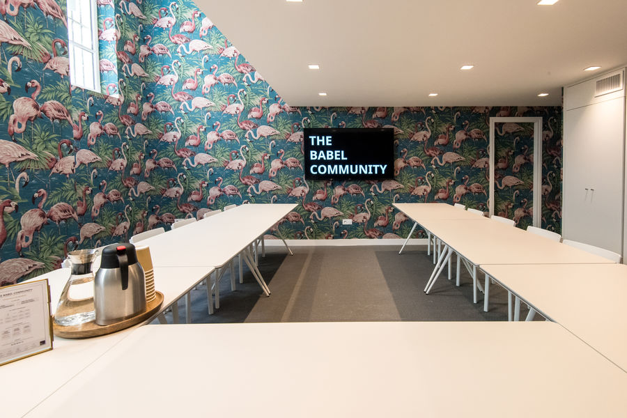 The Babel Community Flamingo Room
