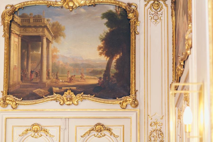 Hôtel Alfred Sommier Décoration d'origine du Salon Doré