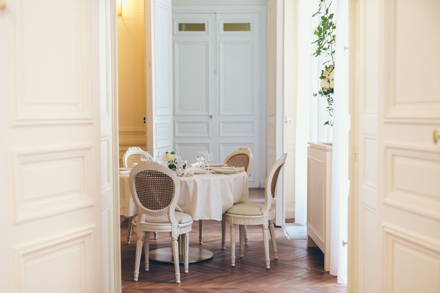 Hôtel Alfred Sommier Salons en enfilade (Salon Doré, Bureau d'Alfred et Boudoir)