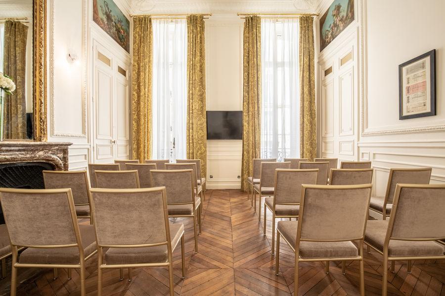 Hôtel Alfred Sommier Salon Carré