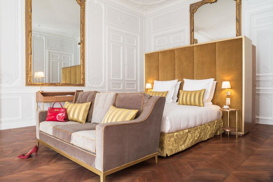Hôtel Alfred Sommier ***** Chambre