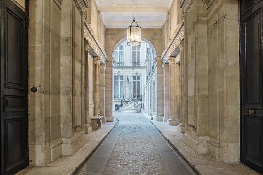 Hôtel Alfred Sommier ***** Entrée