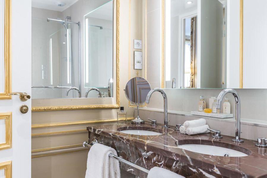 Hôtel Alfred Sommier ***** Salle de bain