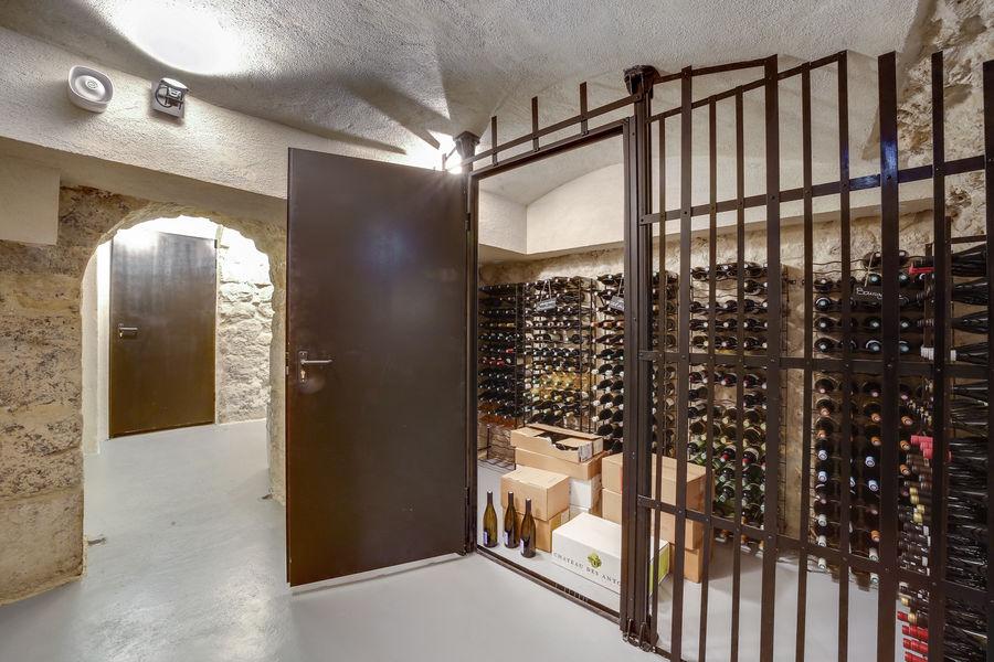 Chai Parisien Réserve vin - sous sol