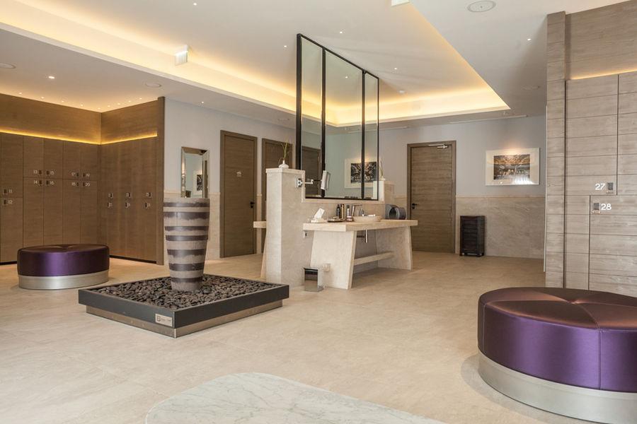 Domaine de Verchant  Hôtel & Spa ***** vestiaire spa