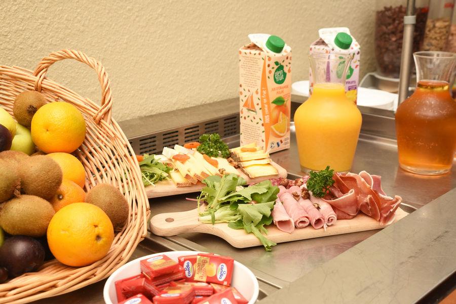 Domaine de Sainte-Croix Petit-déjeuner