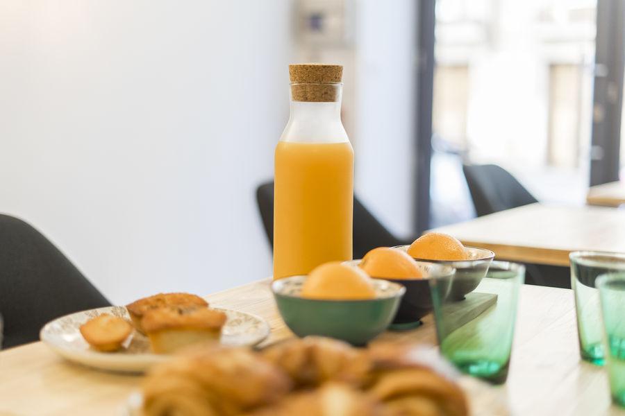 Maison Hercé Petit-déjeuner