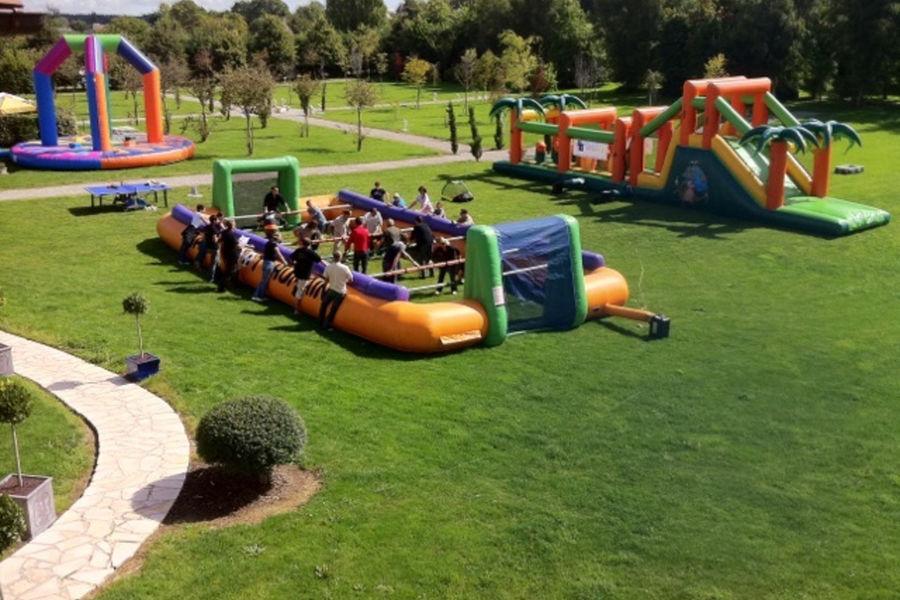 Manoir de la Poterie Activités team building dans le Parc du Manoir