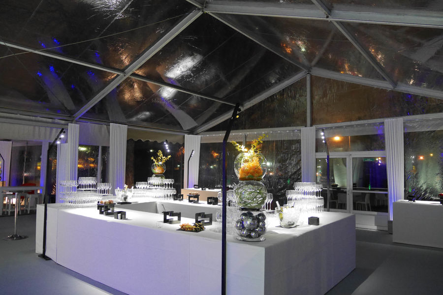 Pavillon Dauphine Saint Clair Structures éphèmères et jardins d'hiver sur demande.