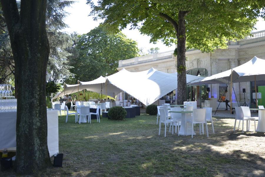 Pavillon Dauphine Saint Clair Jardins toile de tendues