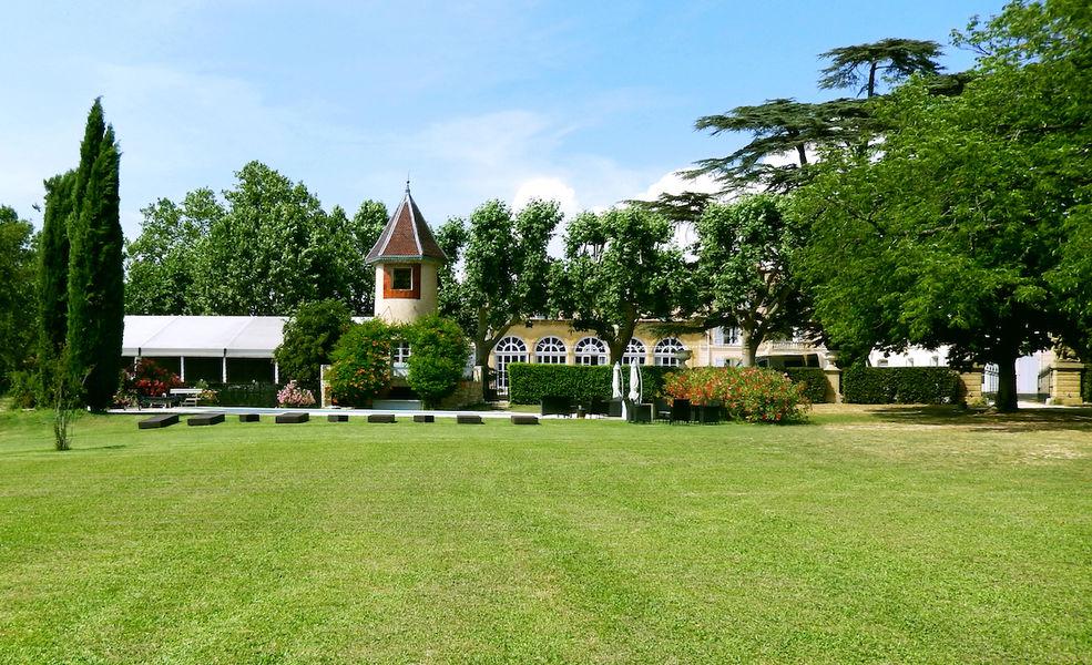 Château d'Alphéran Jardin
