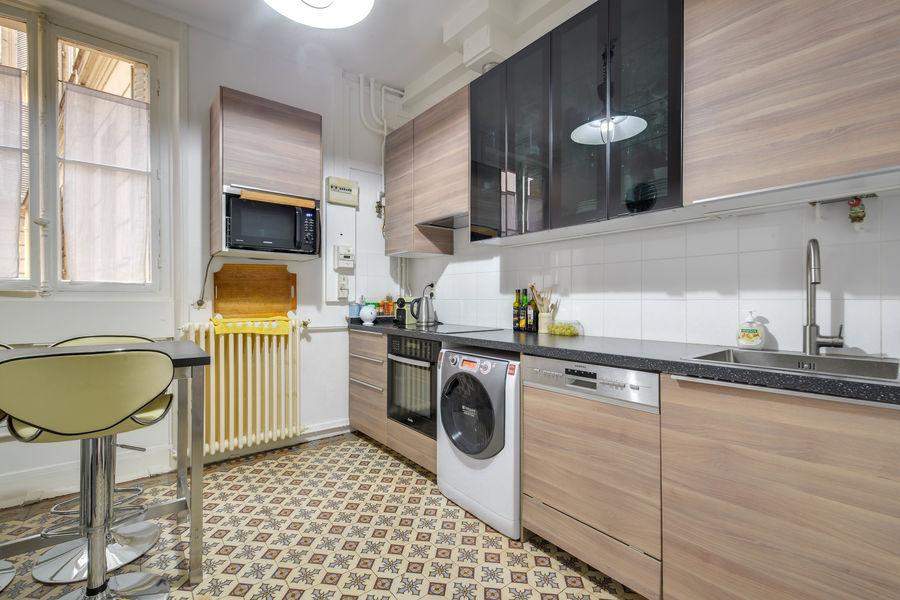 Appartement haussmannien, CNA Cuisine