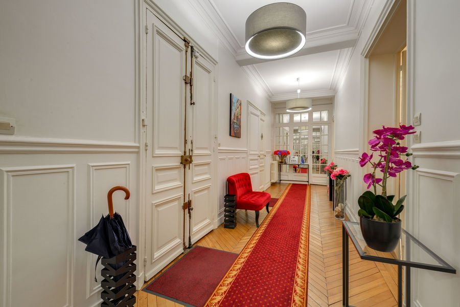Appartement haussmannien, CNA couloir