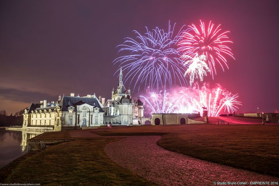Le Domaine de Chantilly Château de Chantilly - Feu d'Artifice