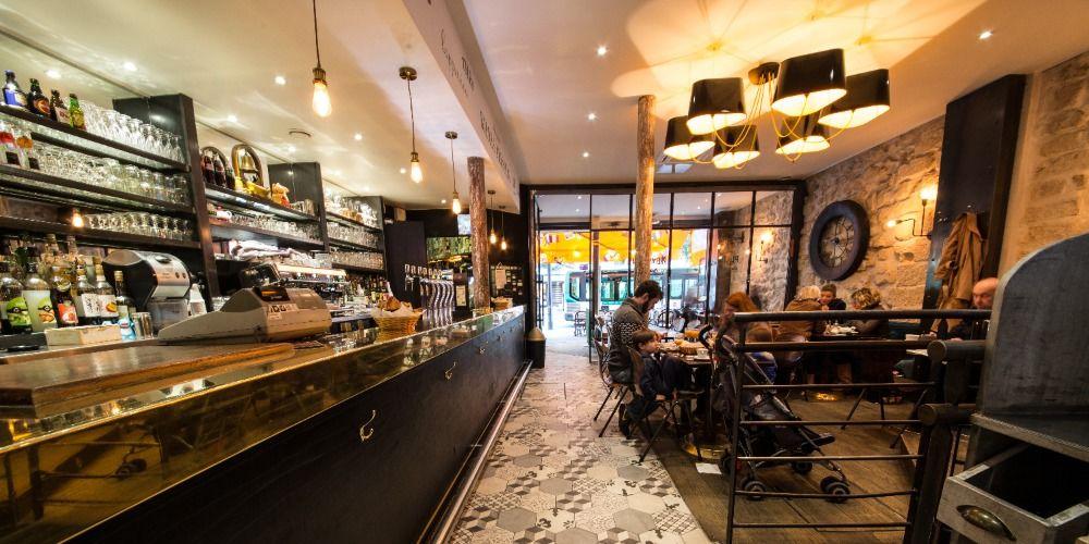 Le Café du Chatelet Comptoir