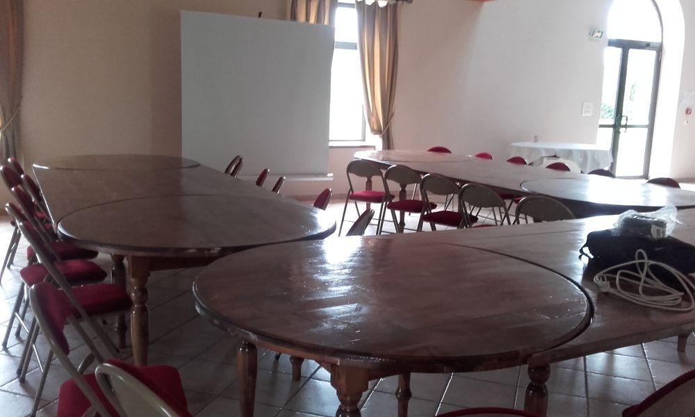 Le Domaine de la Petite Haye Réunion salle de réception Grange