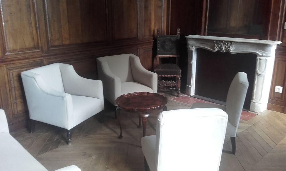 Le Domaine de la Petite Haye Petit salon du Château