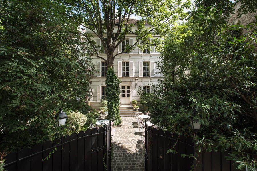 Hôtel Particulier Montmartre Façade de l'Hotel Particulier Montmartre