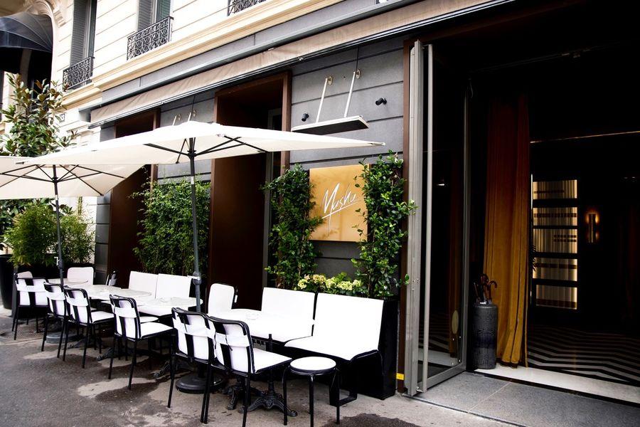 Masha Restaurant Terrasse