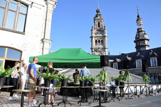 Evénement sur le rooftop de Lille
