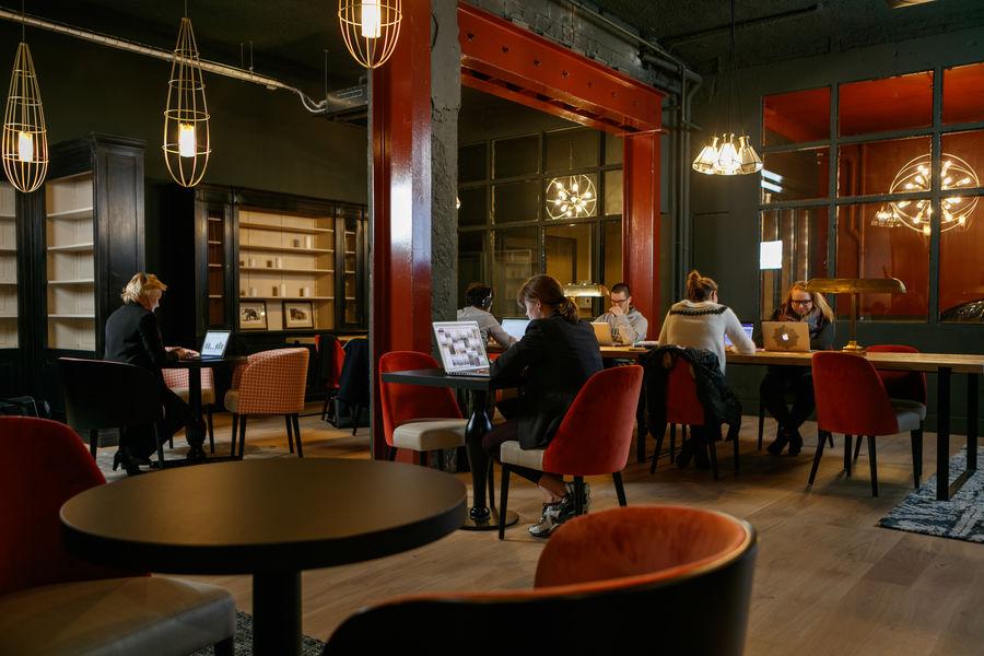 Now Coworking - Rouen Bibliothèque