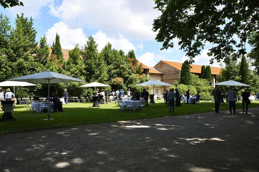 Château de Vergières Cocktail dans les jardins