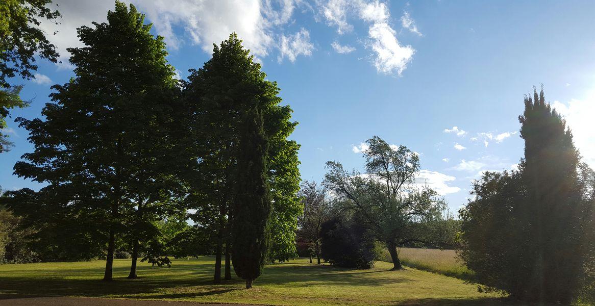 Château de Vergières Jardin du domaine