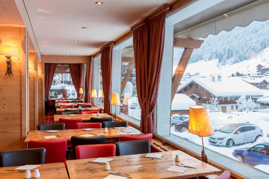 Hôtel Beaulieu ** Salle petit déjeuner avec vue