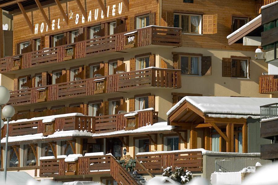 Hôtel Beaulieu ** Façade en hiver