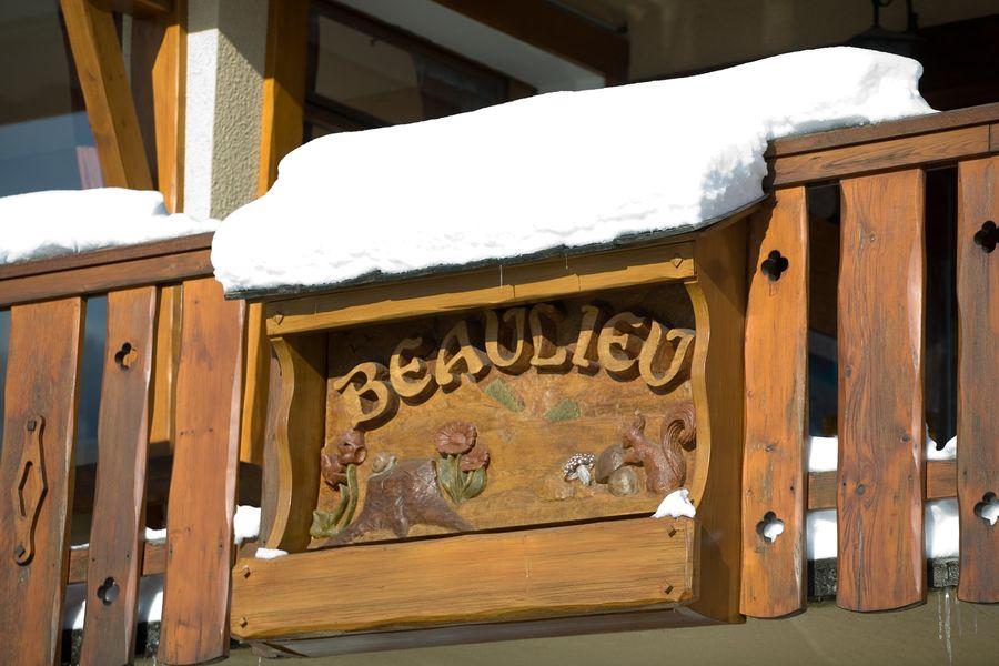 Hôtel Beaulieu ** Enseigne enneigée