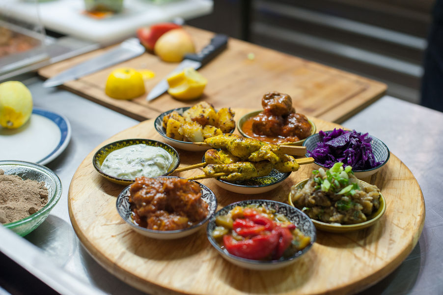 Mumbai Cafe salle du restaurant