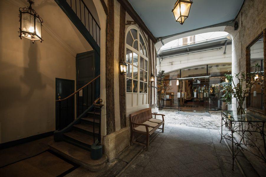 Hôtel du Jeu de Paume Entrée de l'hôtel