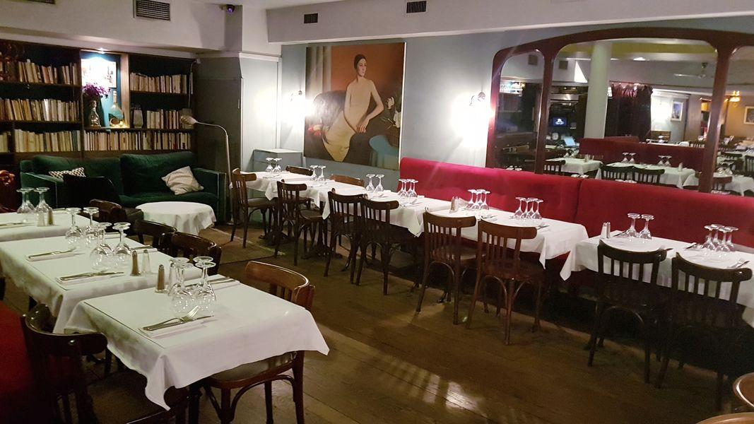 Hôtel du Nord Partie arrière du restaurant / Bibliothèque