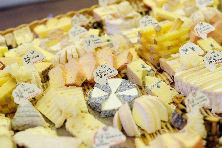 Villa Mathis *** Plateau de fromages affinés