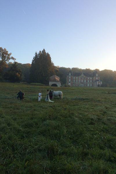 Château de la Bûcherie Shooting extérieur