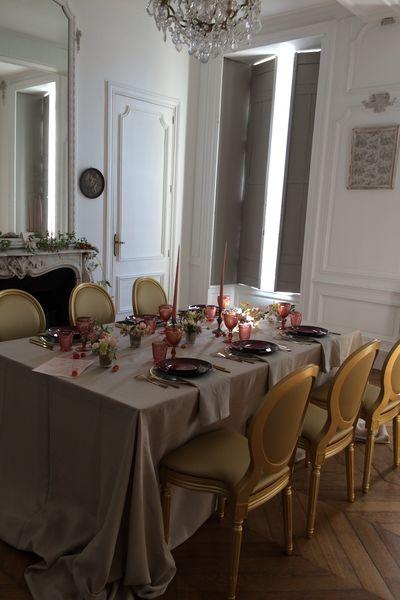 Château de la Bûcherie Salon Pompadour