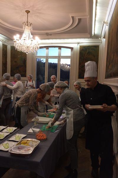 Château de la Bûcherie Cours de cuisine
